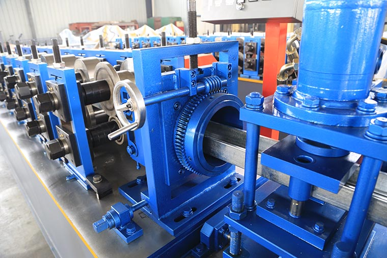 High Speed C Purlin Roll Forming Machine