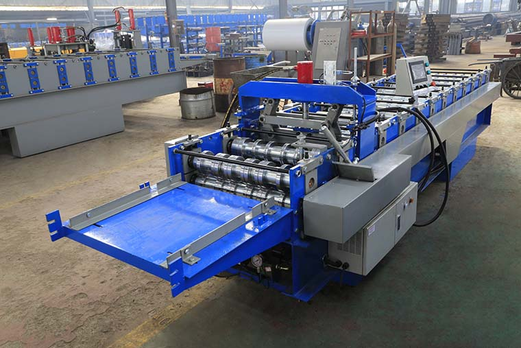 Steel Bar Truss Deck Roll Forming Machine