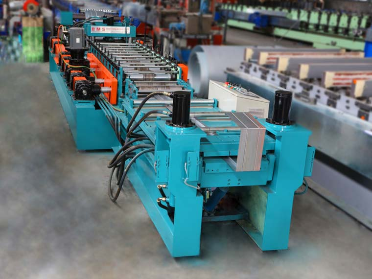 Fire Damper Frame Roll Forming Machine