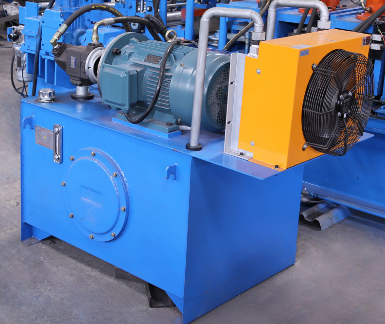 High Speed Metal Track Roll Forming Machine