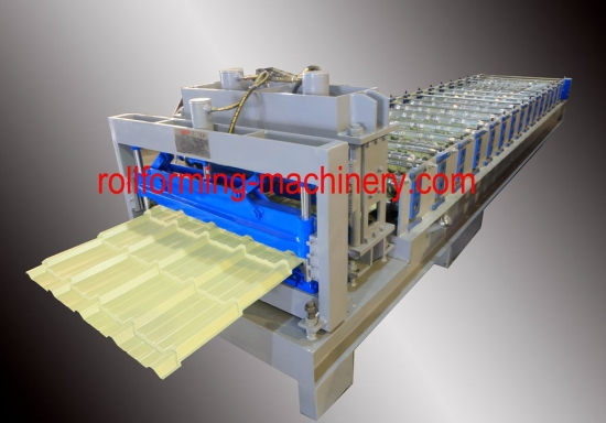 Glazed Tile Roll Forming Machine for YX28-828