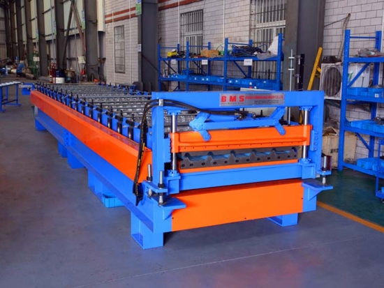 YX30-1000 Roof Panel Roll Forming Machine