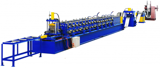 Rack upright roll forming machine with high quality and low price