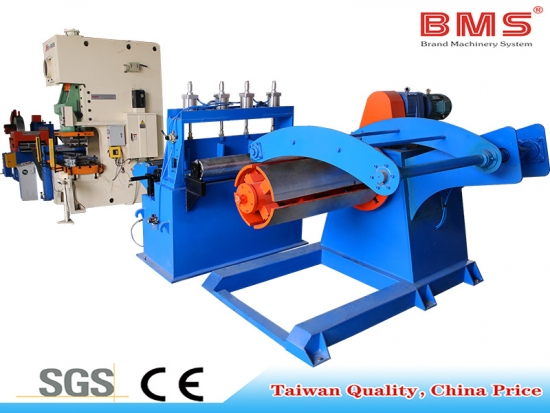 decoiler-leveling-servo-punching machine-straightener-recoiler